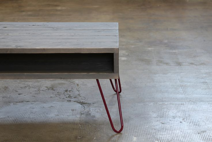 Fig Hairpin Legs, gambe in acciaio per tavolo, pantone Fig, 74-44-25 cm , Made in Italy ,stile industrial, stile vintage di dokke su Etsy