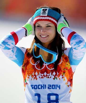 Anna Fenninger (Austria) Gold Medalist - Super G and Silver Medalist - Giant Slalom
