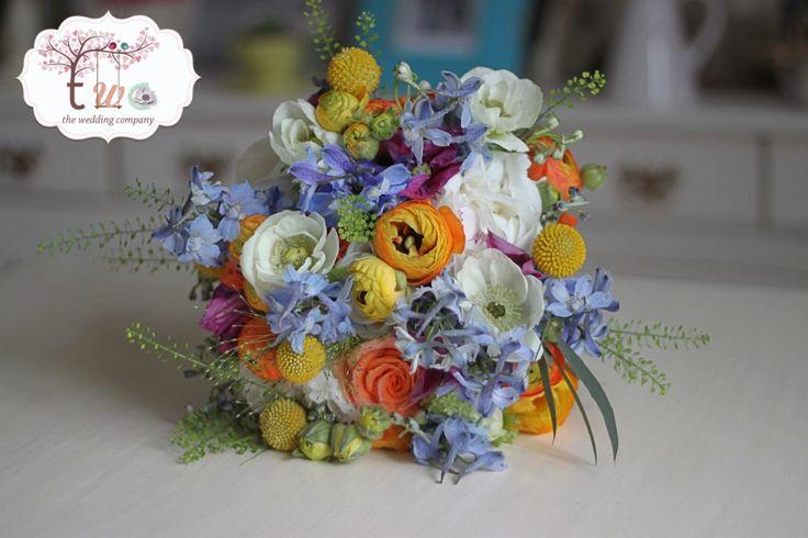 Buchet colorat sauvage/ Coloured sauvage bouquet