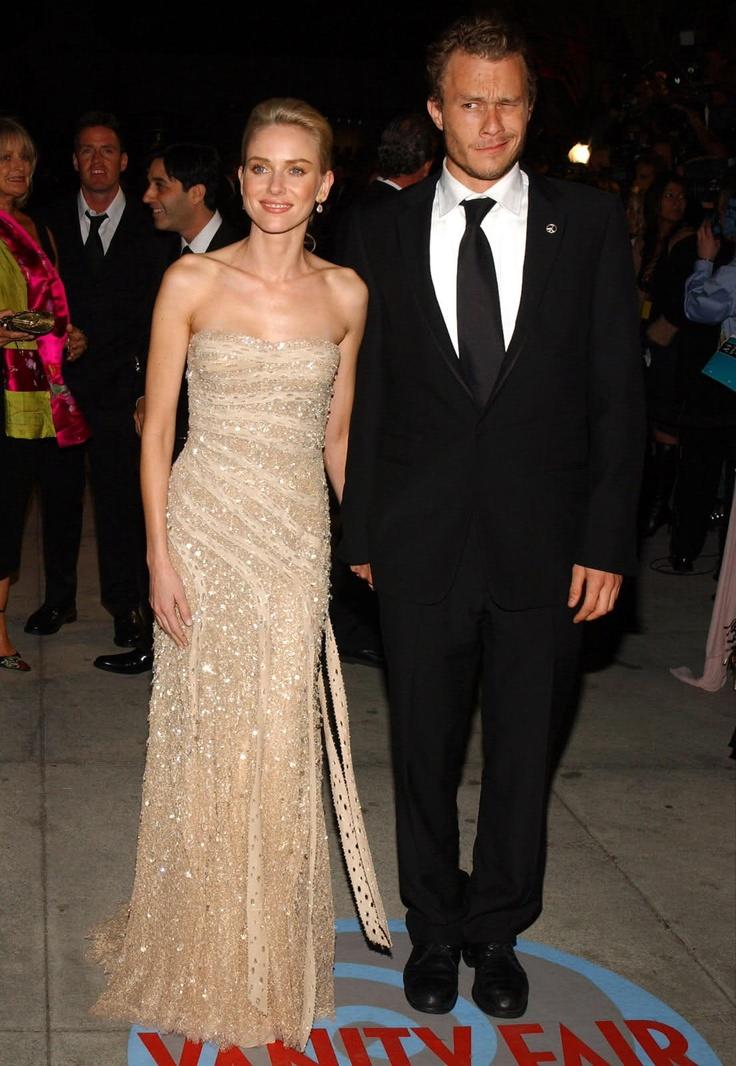 Naomi Watts & Heath Ledger - Oscars, 02.29.04 | Actors ...