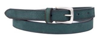 Buckles & Belts - Belt/Gürtel - New Spring Collection 2016 - Torean - Nubuk-Leather - bosco - green - Design in SWITZERLAND made in ITALY https://www.facebook.com/BucklesBelts