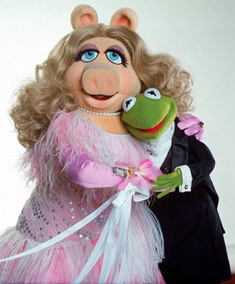 Miss Piggy, an in your face, eyes in your lap 2 and always demanding Kermit's (a 9) attention.
