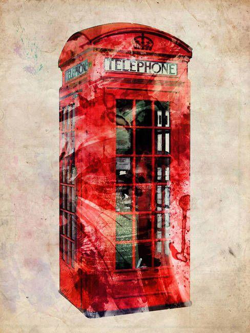 Urban art, Telephone and Framed prints on Pinterest