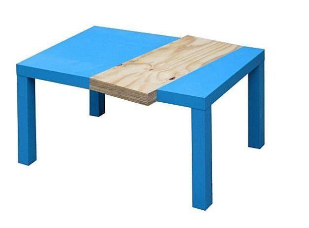 Transformation De La Table Basse Lack De Chez Ikea Ikeahack