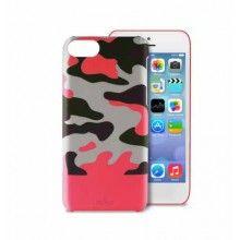 Carcasa iPhone 5C Puro - Camou Rosa  Bs.F. 178,63