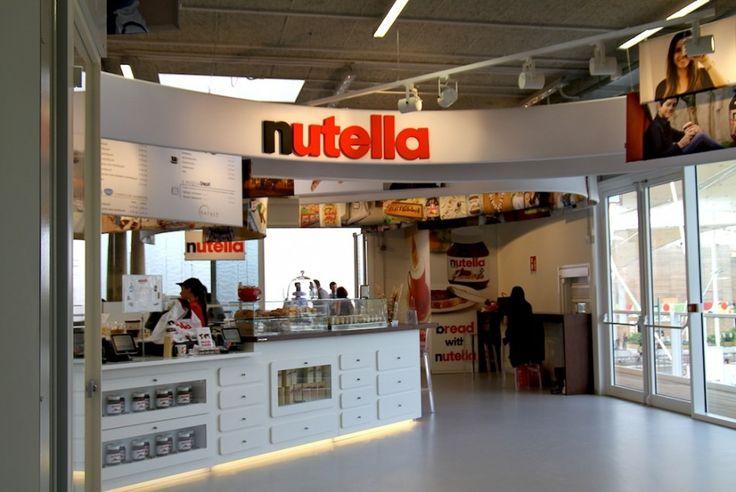 Padiglione Eataly, Nutella Concept Bar #expomilano #eataly #nutella