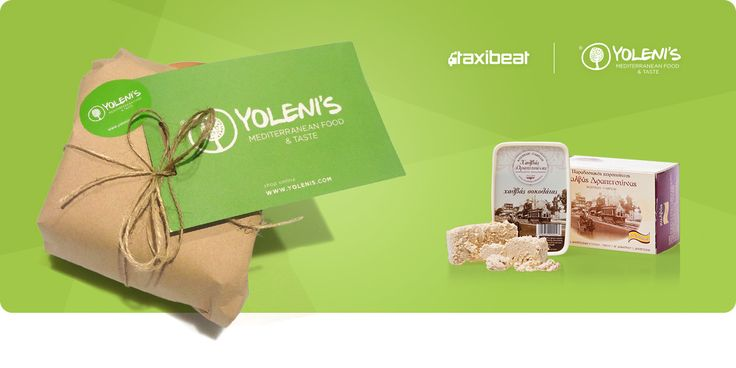 """""""Sweet Lent"""" by Yoleni's family and Taxibeat!  Only for Friday, 20/2, from 11am and for a few hours, you can ask from Taxibeat to deliver you a package with two unique halva flavours!   #taxibeat #yolenistaste"""