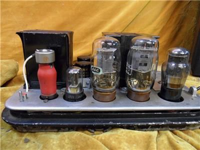 Paramount A1 Vintage  Valve Amplifiers KT66 PP - Ex Cinema Pair, vintage, used, for sale, secondhand