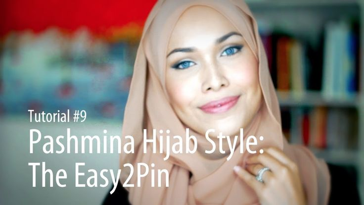 [Adlina Anis] Hijab Tutorial 9 | The Easy2Pin