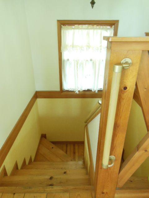 我が家の階段の手摺! | *安東英子の素敵な暮らしの扉*片付け~収納 ... ココ ...