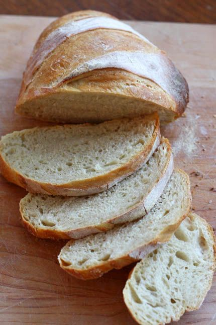 Easy homemade bread without a bread maker. omg yum.