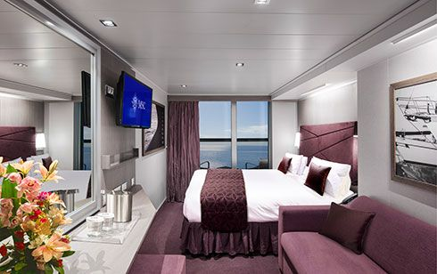 MSC Seaside features both traditional and unique accommodation layouts for your perfect cruise experience. Discover all the cabin categories!