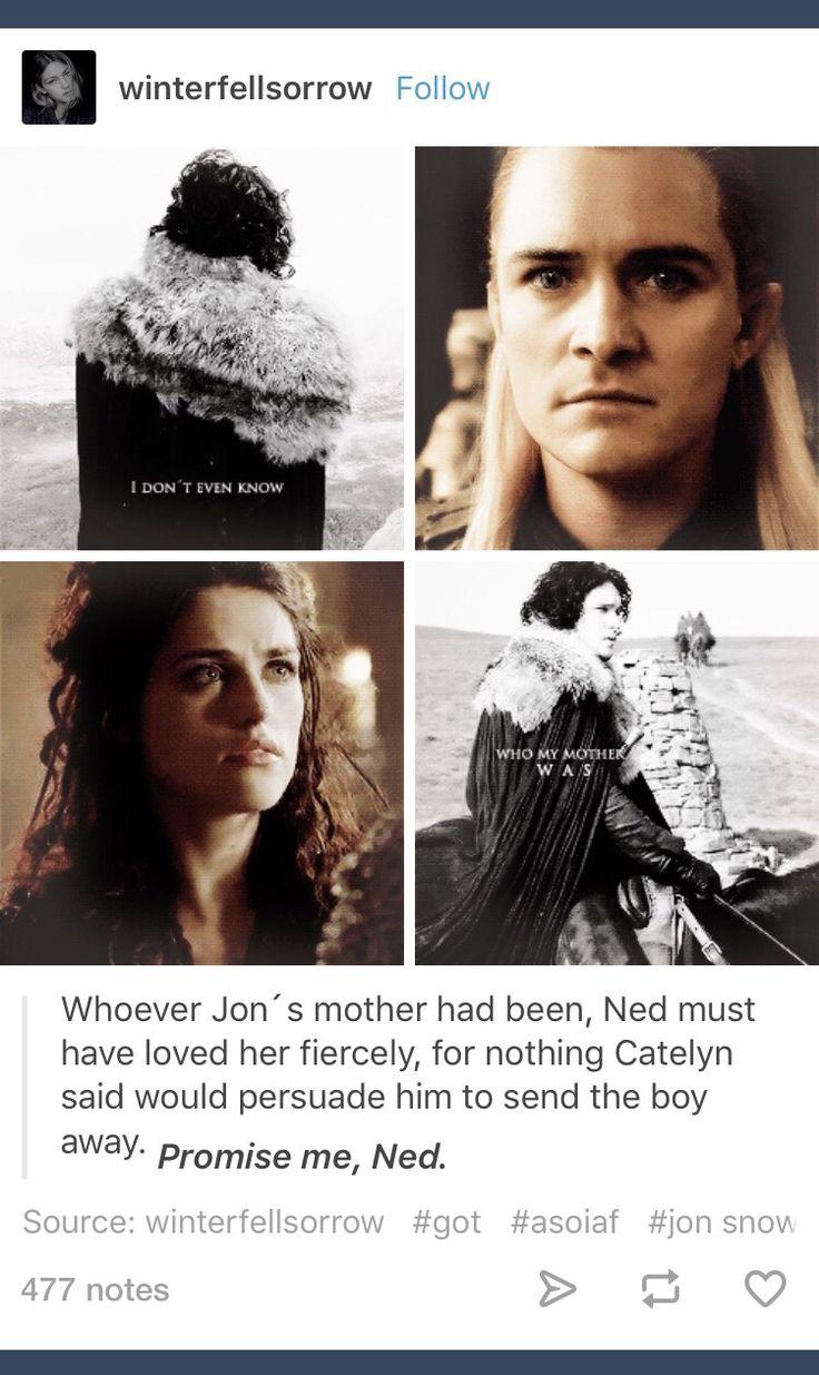 GoT; ASOIAF; Game of Thrones; Rhaegar Targaryen; Lyanna Stark; Jon Snow