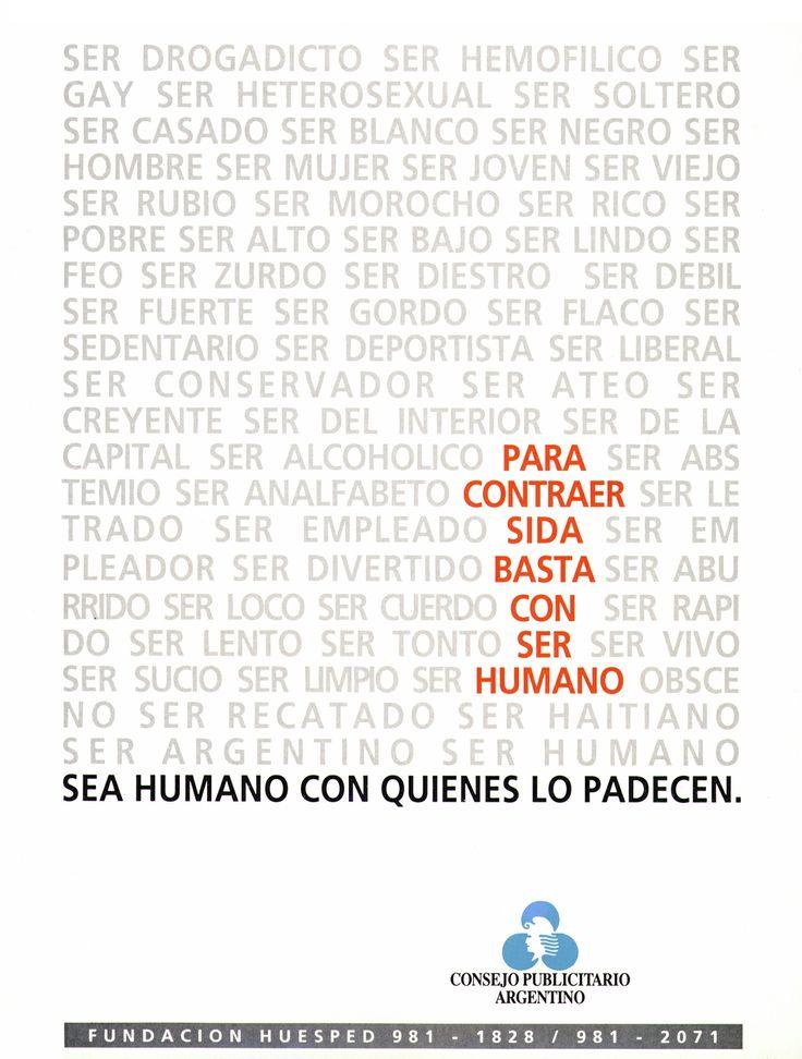 """Sida -Ser humano-"" 1995"