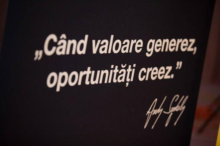 citat despre valoare si oportunitati andy szekely