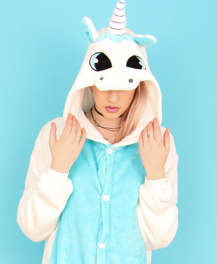 Blue Unicorn Onesie | Wonzee
