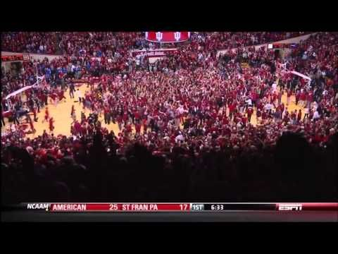 """Watching the """"Wat Shot"""" was the closest you've come to finding god.   21 Signs You Went To Indiana University"""