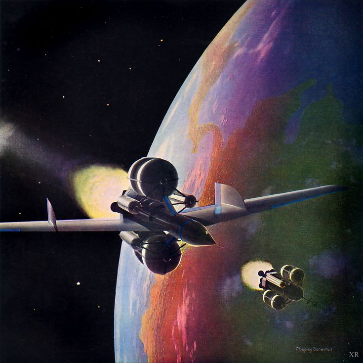 Vintage Science Fiction Wallpaper Google Search: 17 Best Images About Chesley Bonestell On Pinterest