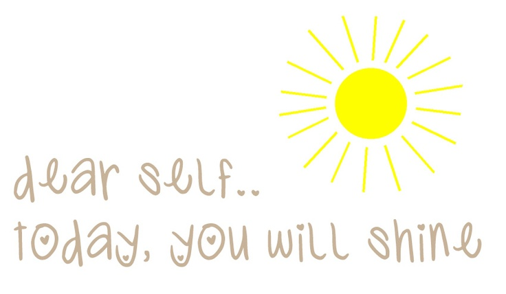 note to self #quote