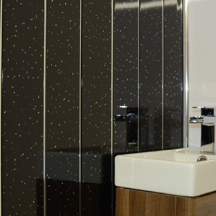 Black Panels Black Cladding Pvc For Bathroom Shower Cladding Wall Panels Ceiling Panels Black Spa Pvc Bathroom Wall Panels Bathroom Wall Panels Ceiling Panels