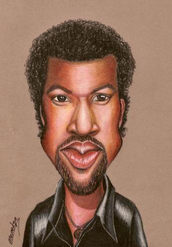 lional   rtchie | Cartoon: Lionel RICHIE (medium) by menekse cam tagged lionel,richie ...