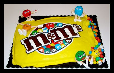 bolo M&M'S mm´s / mm´s M&M'S cake - The Family Cakes