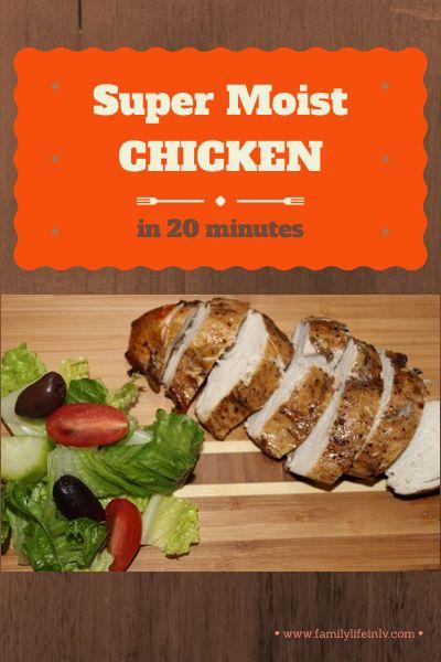 Wolfgang Puck Pressure Oven - Super Moist Chicken! #paleo #easymeals #20minutedinners