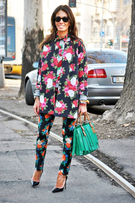 one of the few times I like floral clothing.  make it a little wacky :)