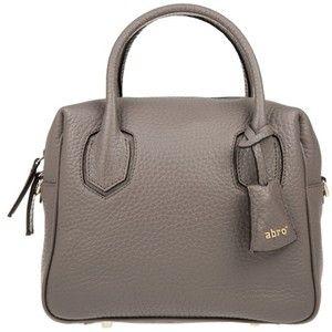 Abro Newton Satchel Zinc in brown, Handle Bags