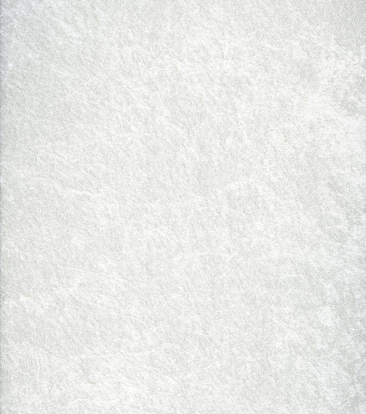 Glitterbug Crushed Panne Velvet Fabric White Fabric