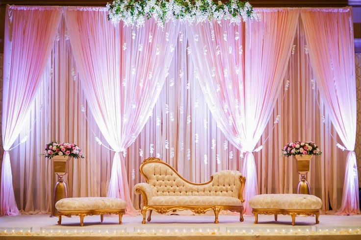 Indian Pakistani Bengali Wedding Stages on Pinterest | Event ...