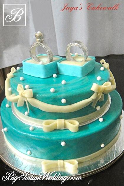 Engagement Cake Designs 2018 : Jaya s Cakewalk lovely engagement cake designs Wedding ...