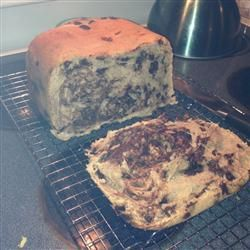 "Chocolate Chip Bread I Recipe.  The Search for Great Bread Machine Recipes:  This is ""F."" (Oct 2014)"