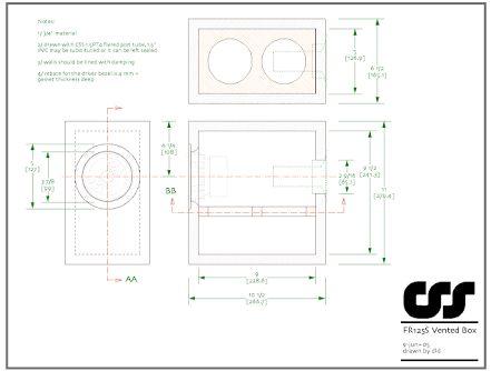 Image result for subwoofer box design for 8 inch