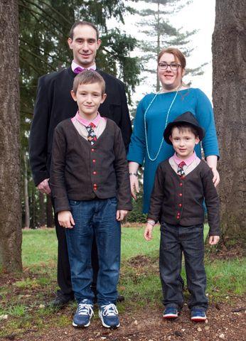 Confections  de L'Atelier de Melle Chas: Robe femme Gilet homme sur mesure Noeud papillon Cravates Chemises enfant Vestes enfant