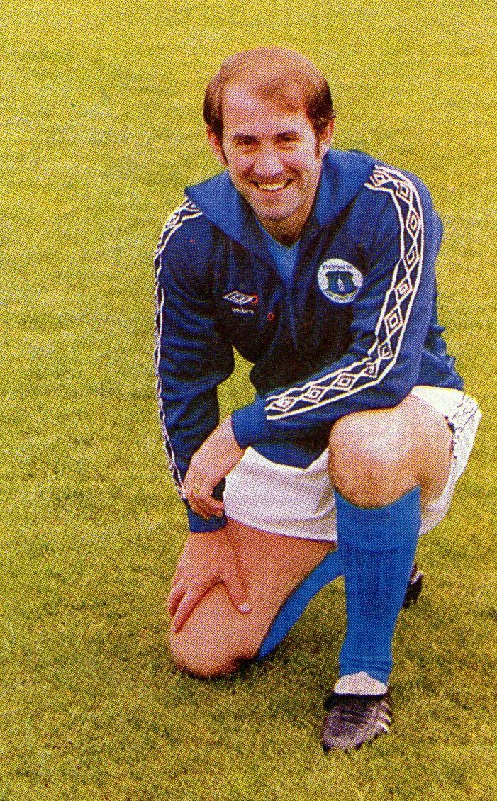 Howard Kendall of Everton in 1980.