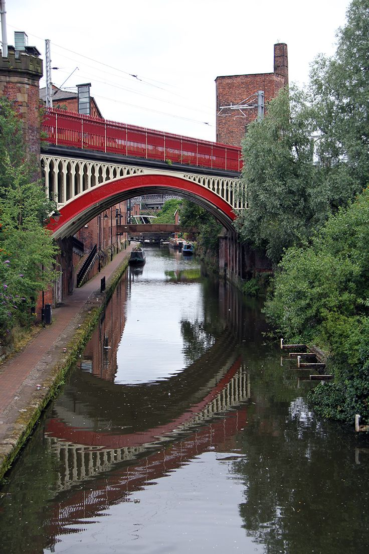The near canal in Manchester