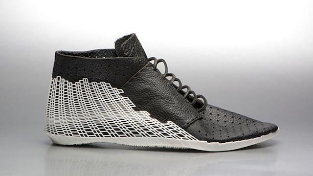 未来のファッション界を変えられるか!? 3Dプリンターと皮で作った本格的な靴が登場
