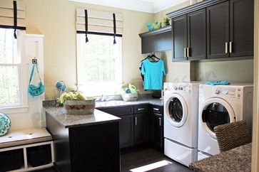 Laundry + Mud Room, with peninsula cabinet