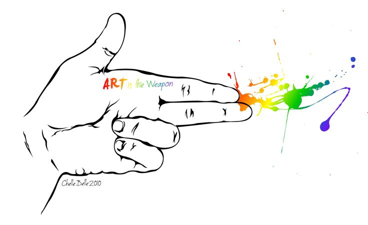 Art is a weapon...