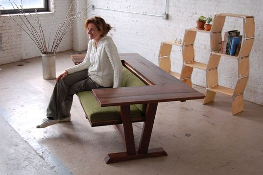 ohh, table chair.  Great for if you had a loft and lots of parties. i don't have a loft or have lots of parties, but it doesn't mean i still can't like it.
