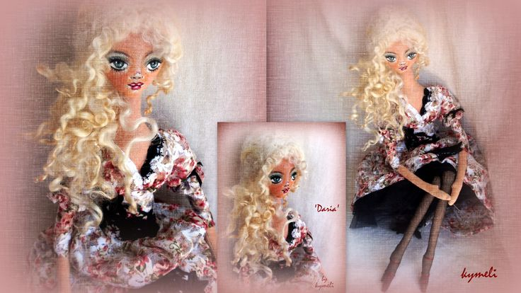 'Daria' OOAk Art Doll by kymeli