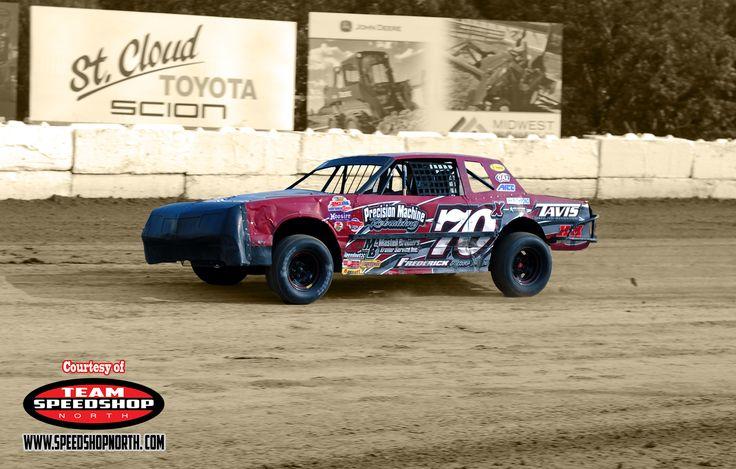Brad Schmidt driving the 70x #wissota #street #stock #speedshop #north #racing #granite #city #speedway #dirt #track