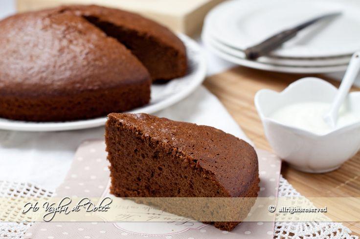 Torta allo yogurt e cioccolato soffice, ricetta | Ho Voglia di Dolce - ho aggiunto anche gocce di cioccolato e amarene.