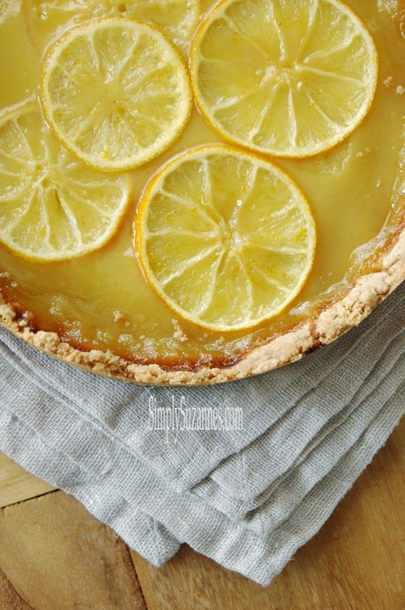 Lemon-Honey Tart With Salted Shortbread Crust Recipes — Dishmaps