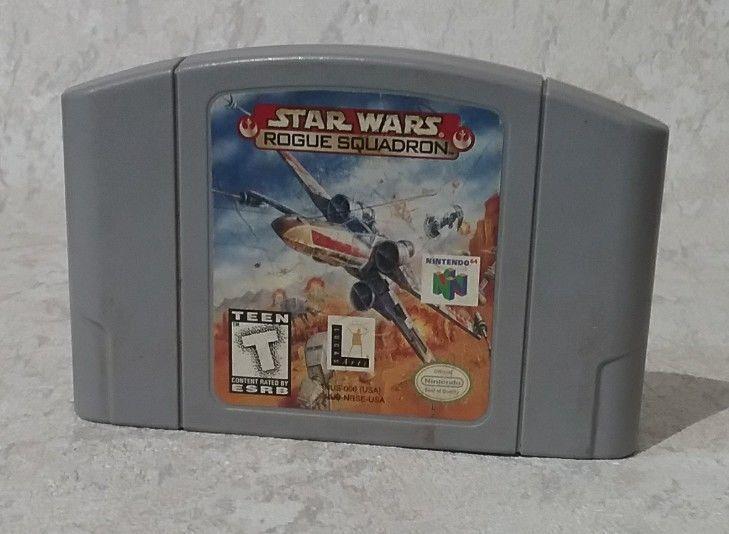 Star Wars: Rogue Squadron (Nintendo 64, 1998) #Nintendo