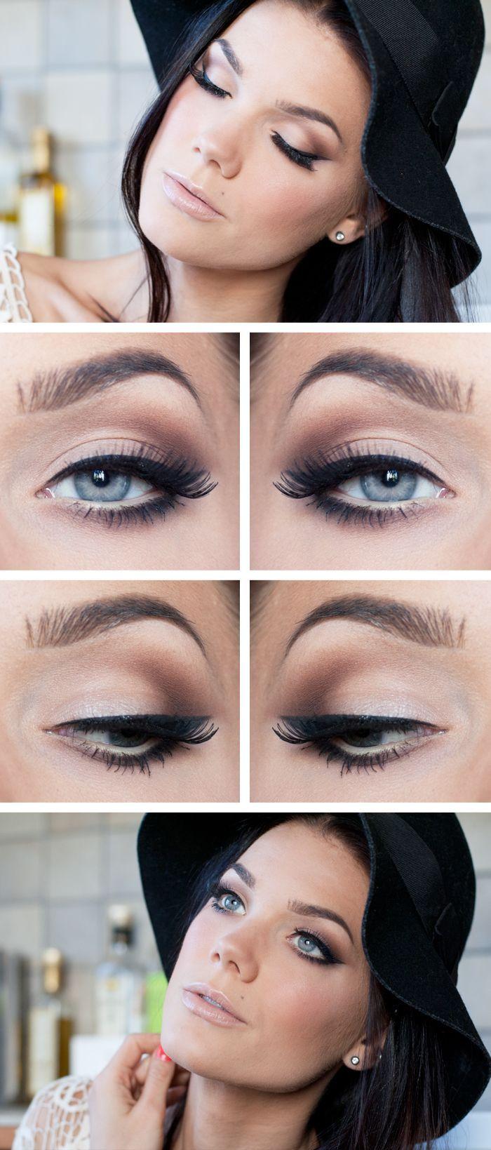 Si quieres que tus ojos se vuelvan más profundos, nada mejor que un maquillaje con pestañas postizas. ¡Copia e inspírate gracias a estas ideas!