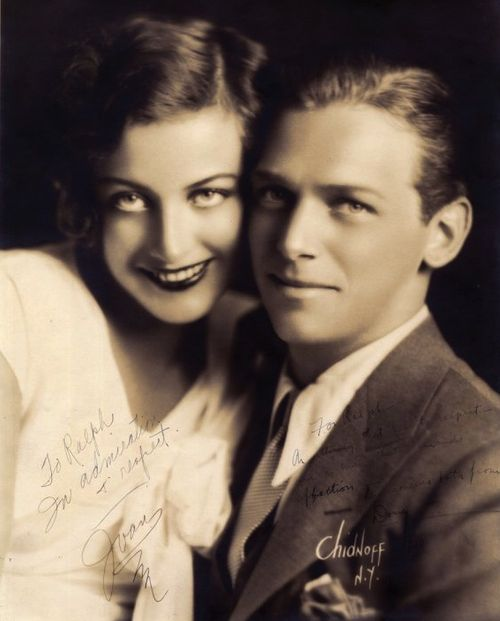 Joan Crawford with Douglas Fairbanks, Jr. by Irving Chidnoff c.1930