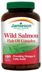 Wild Salmon Fish Oil Complex  is designed to support cardiovascular support, to help reduce high blood pressure, to relieve joint pain and swelling and to maintain a healthy brain and nerve cell function.