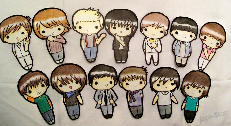 Super Junior cutouts